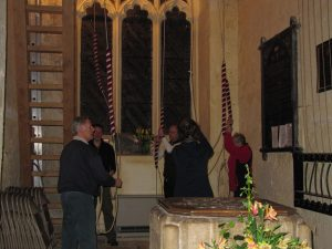 Bell ringing at Barrington Church